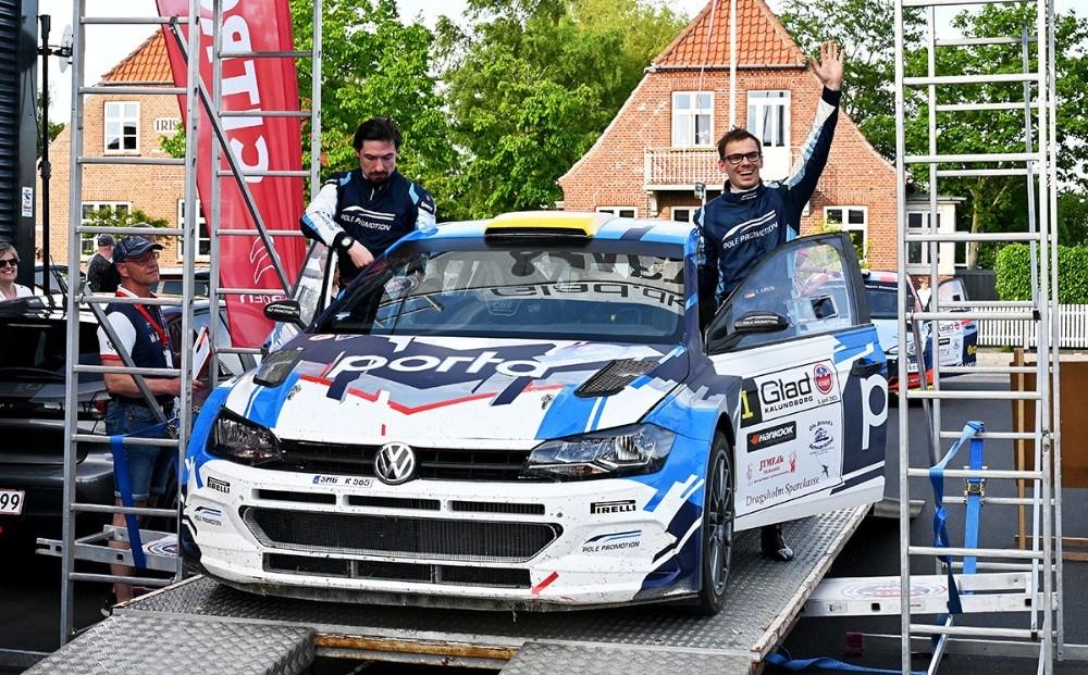 Den 3-dobbelte tyske rallymester Fabian Kreim sluttede som nr. 2. Foto: Jens Nielsen
