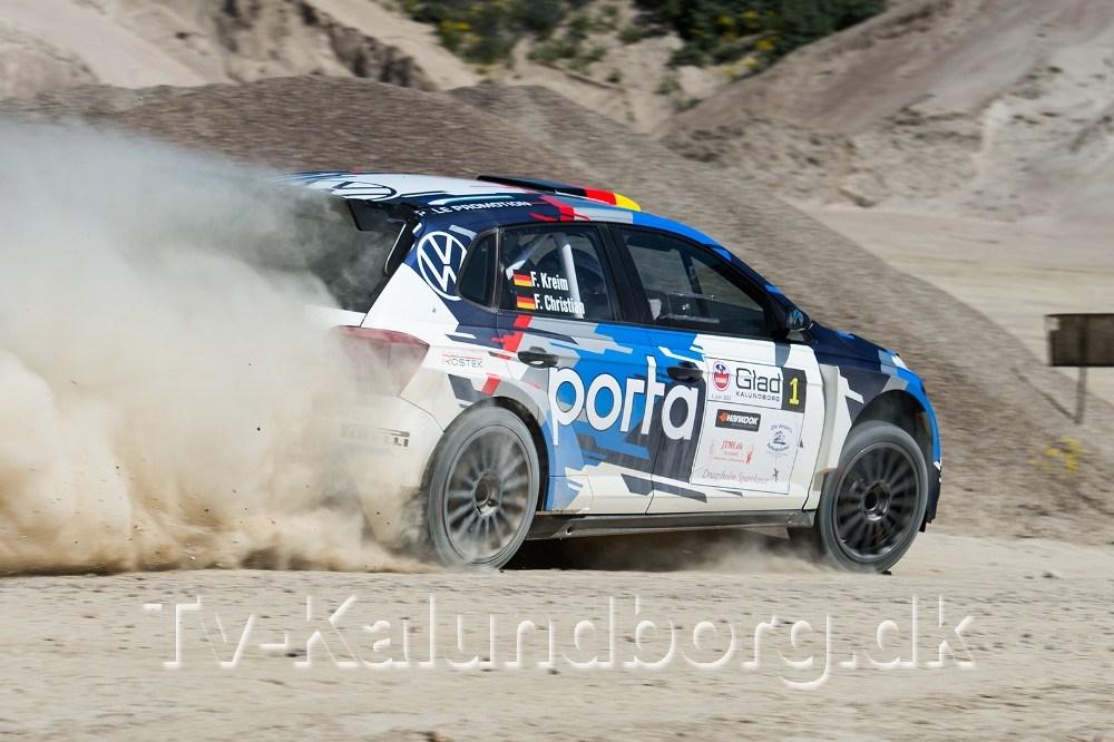 Den 3-dobbelte tyske rallymester Fabian Kreim sluttede som nr. 2.  Foto: Jokum Tord Larsen