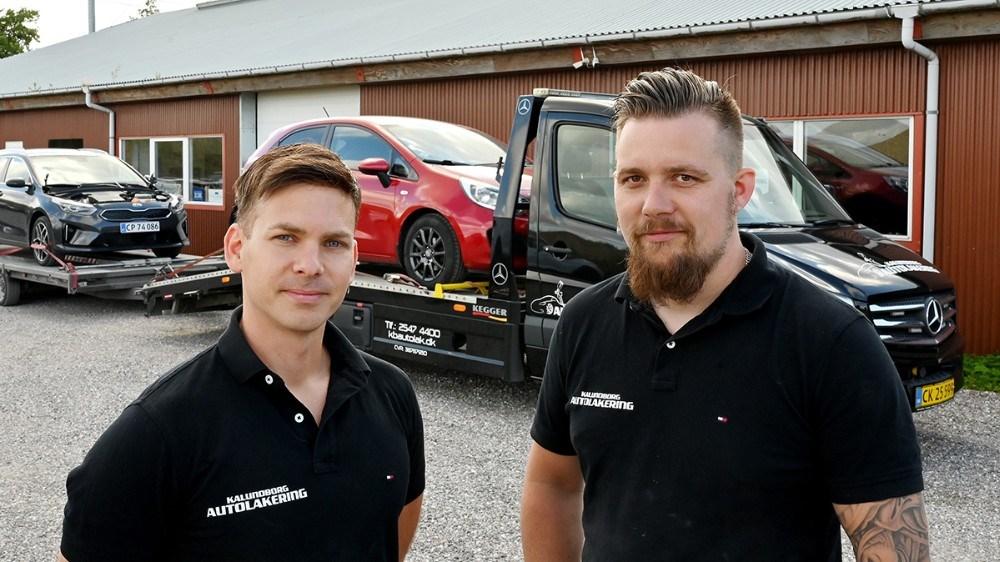 Morten Sonne Faigh og Emil Olsen kan fejre 3-års fødselsdag til oktober. Foto: Jens Nielsen