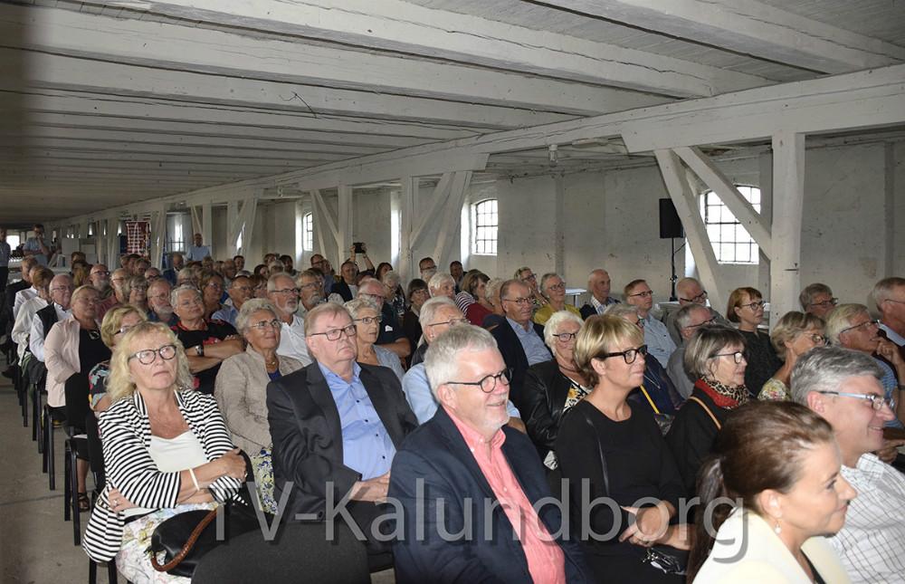 Mange var kommet for at høre mere om projektet. Foto: Gitte Korsgaard.