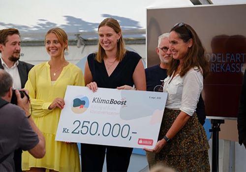 Blev Årets Klimaiværksætter og vandt en kvart mio. kroner