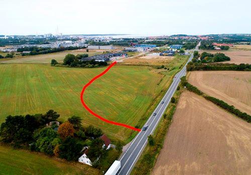 Ny vej skal forbinde Stejlhøj og Holbækvej