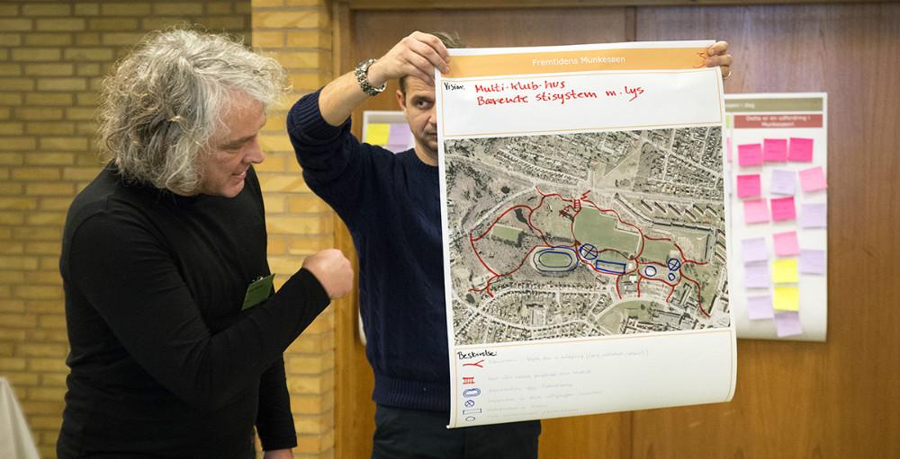 Masser af gode ideer for Munkesøområdet. Foto: Jens Nielsen