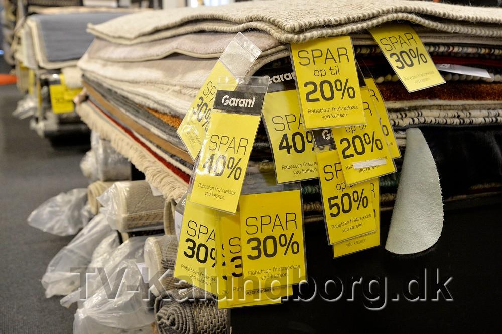 Masser af gode tilbud hos Garant Kalundborg. Foto: Jens Nielsen