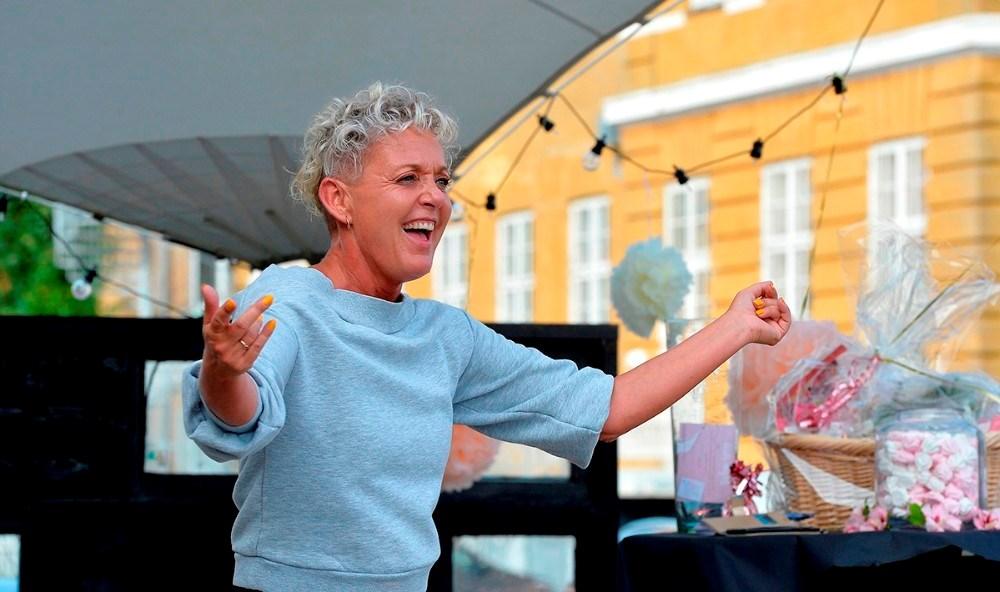 Mie Esberg underviser i både pardans ogHiphop for børn. Arkivfoto: Jens Nielsen