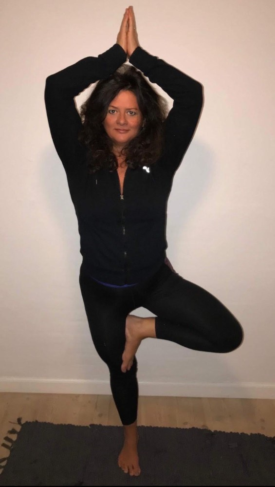 Yoga ved Trine Kronborg.