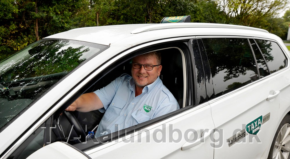 Formand i Kalundborg Taxa Kim Grøn. Foto: Jens Nielsen