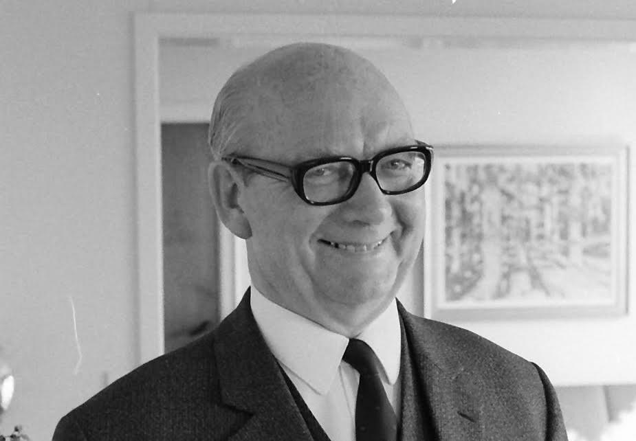 Jørgen Hagemann-Petersen, Kalundborgs magtfulde konservative borgmester fra 1954-1978. Foto: Henry Frederiksen