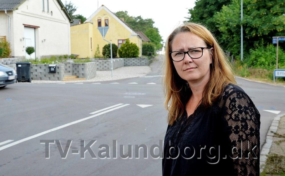 Bettina Dahl Eriksen har i flere år kæmpet for bedre trafiksikkerhed i lokalområdet. Nu ser kampen ud til at lykkedes. Arkivfoto: Jens Nielsen