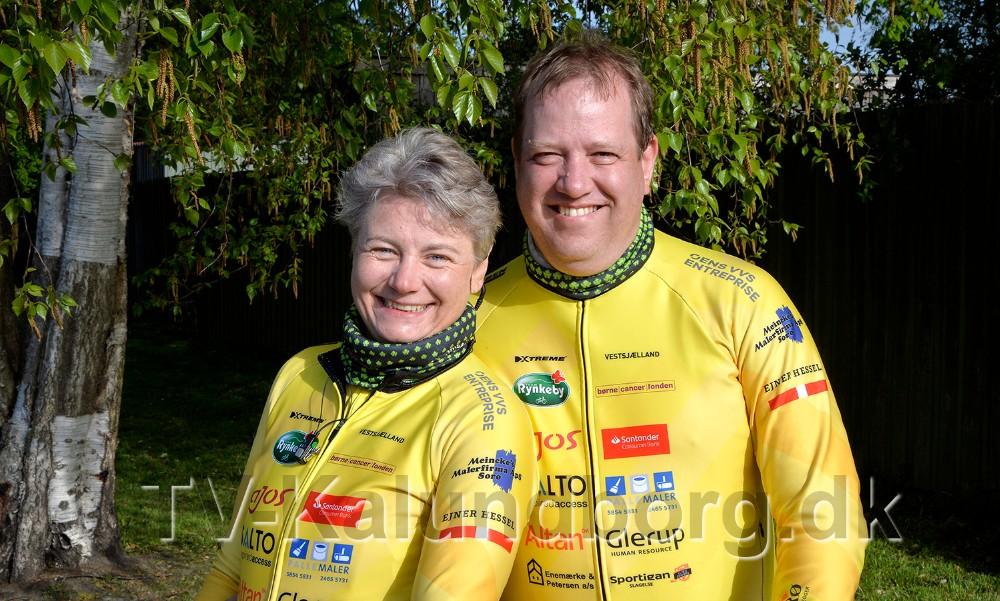 Betina og Jesper Thomsen. Foto: Jens Nielsen