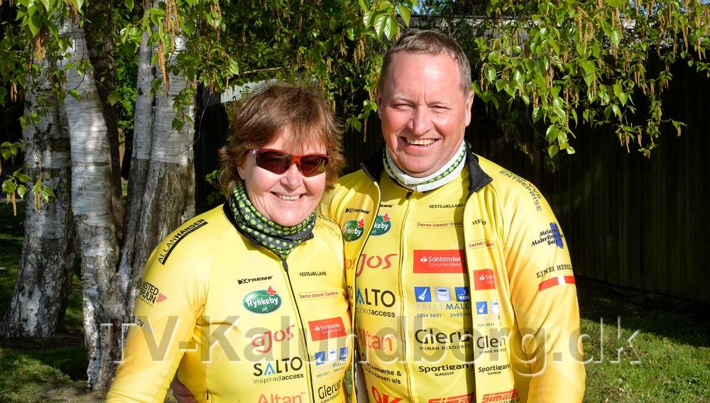 Jannie og Tom Christensen. Foto: Jens Nielsen