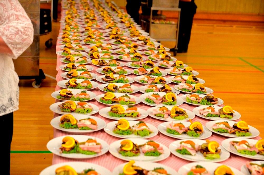 Maden leveres igen af Kim Kok. Foto: Jens Nielsen