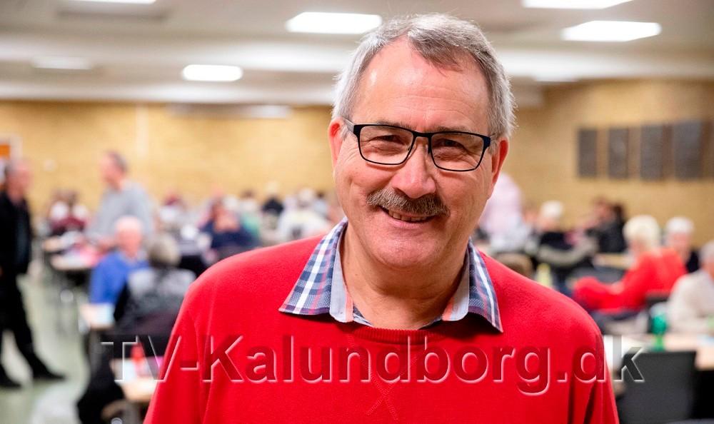 Niels-Erik Sørensen står for 10. gang i spidsen for ældrefesten. Foto: Jens Nielsen