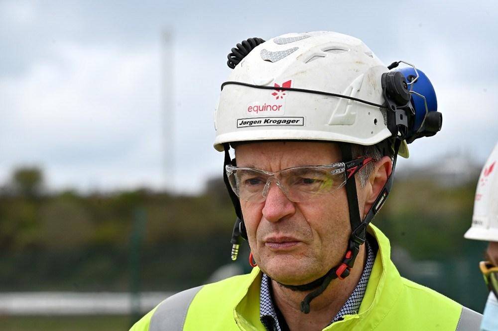 Jørgen Krogager, driftdirektør Equinor Raffinaderiet. Foto: Jens Nielsen