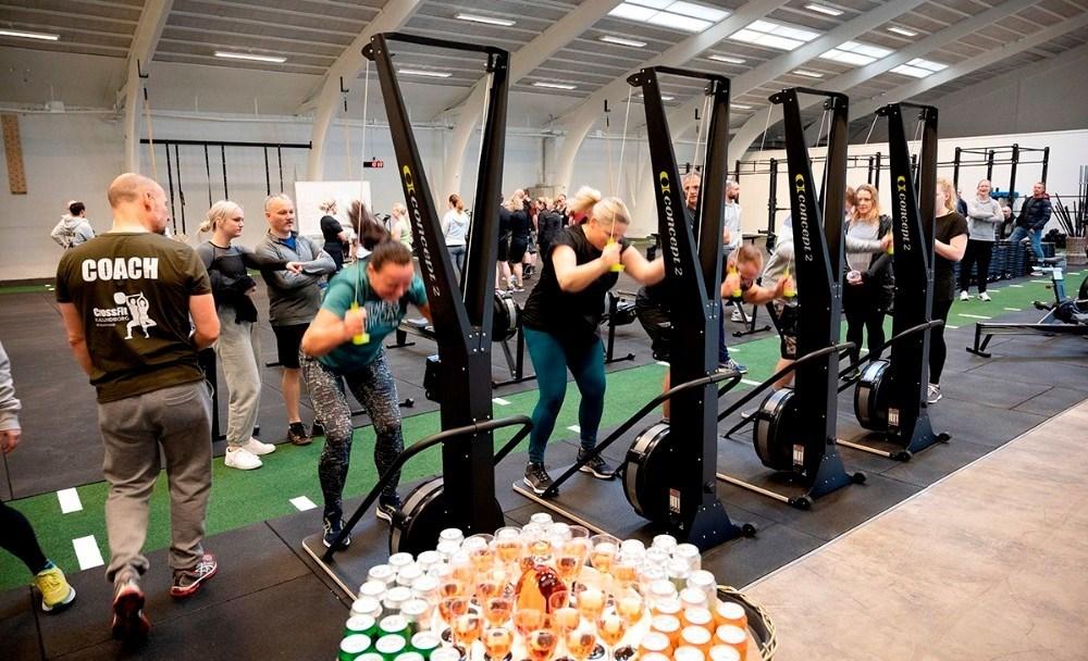 Nu bliver der igen mulighed for at dyrke fitness indendørs, her billede fra CrossFit Kalundborg. Arkivfoto: Jens Nielsen