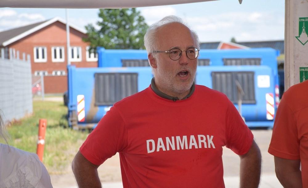 Andreas Weinberger, formand for Avista Oils bestyrelse, sagde et par ord. Foto: Gitte Korsgaard.