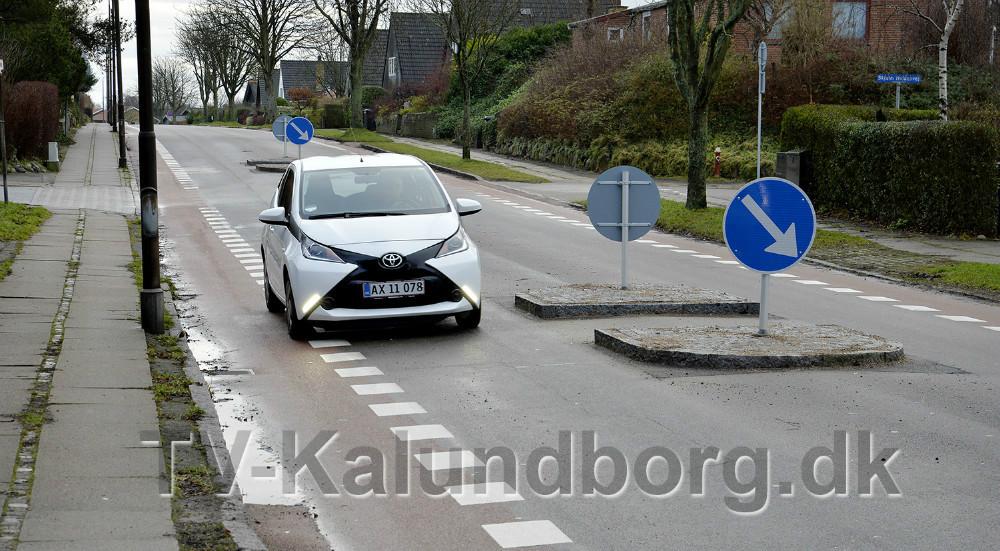 Helleanlæg på Bredekildevej i Kalundborg, der nu skal rykkes. Arkivfoto: Jens Nielsen.