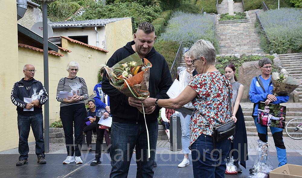 Jens Ilkjær fra TGU Ungdomsafdeling modtog sin pris som Årets Ildsjæl. Foto: Gitte Korsgaard.
