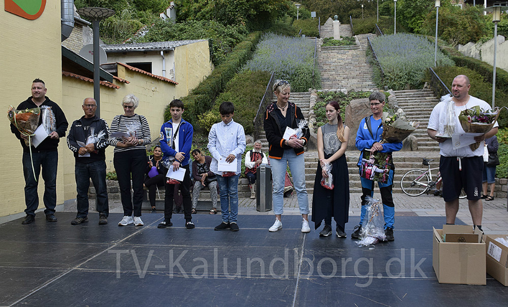 En stor del af prismodtagerne. Foto: Gitte Korsgaard.