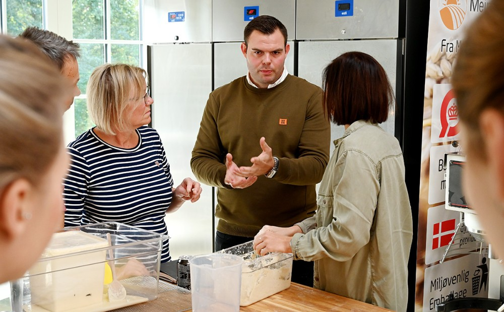 Mark Zeuch er blevet ansat som brødudvikler og bage ekspert. Foto: Jens Nielsen