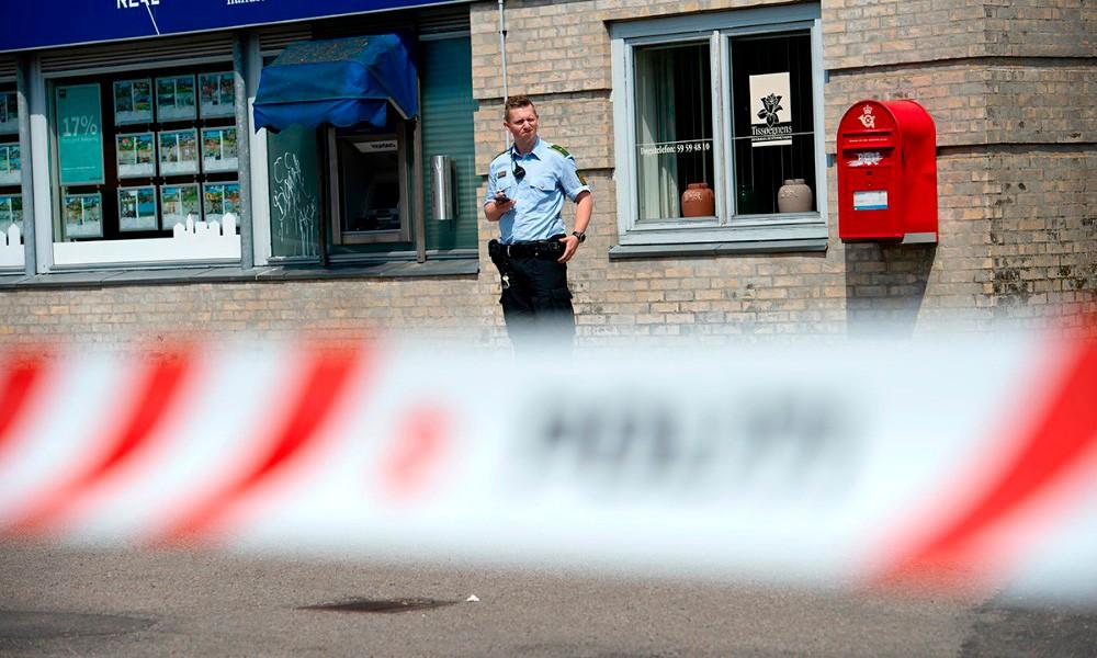 Sidst imaj blev en chauffør fra en pengetransport udsat for et frækt tyveri. Foto: Jokum Tord Larsen