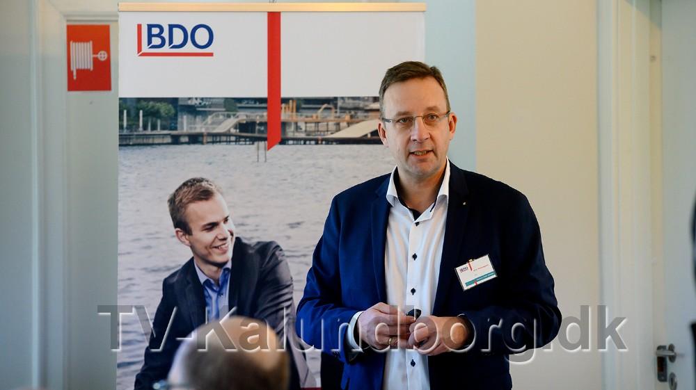 Peter Westergaard, der er Senior Partner ved BDO i Kalundborg, bød velkommen. Foto: Jens Nielsen