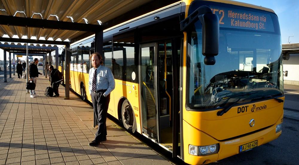 Ny køreplan for bybusserne i Kalundborg fra på søndag. Foto: Jens Nielsen
