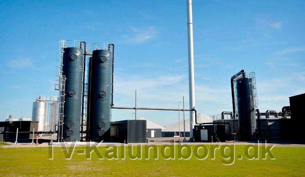 Der er stadig lugtgener fra Kalundborg Bioenergi på Asnæs. Foto: Jens Nielsen