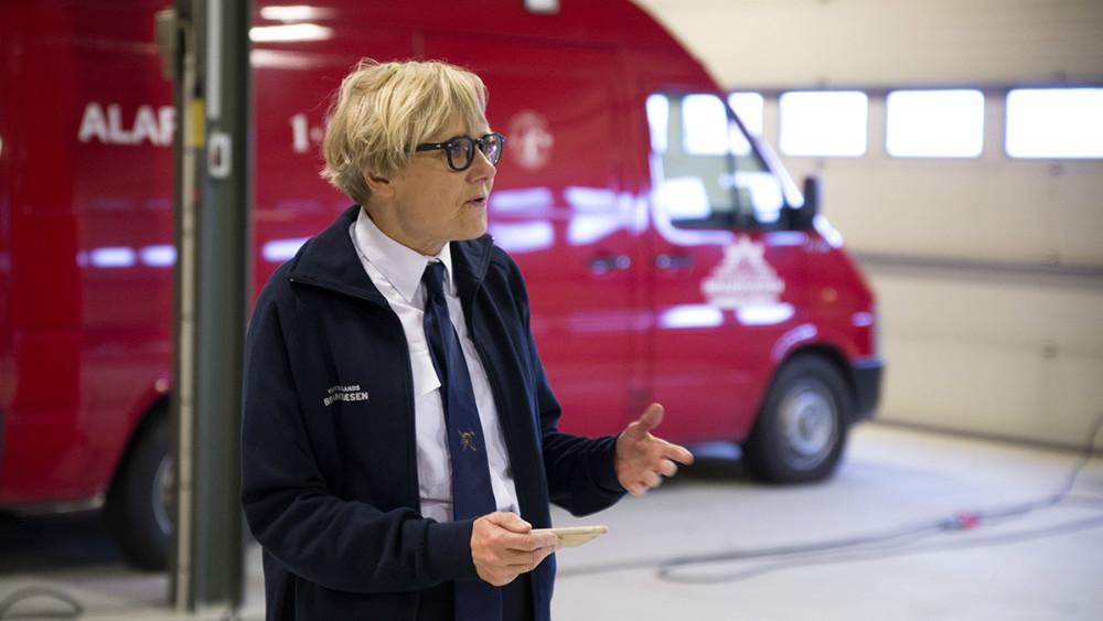 Direktør for Vestsjællands Brandvæsen Helle Søeberg. Foto: Jens Nielsen