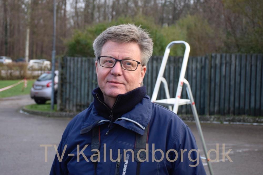 Formand for 5 Tårn Motion, Erik Johnsen. Foto: Gitte Korsgaard.