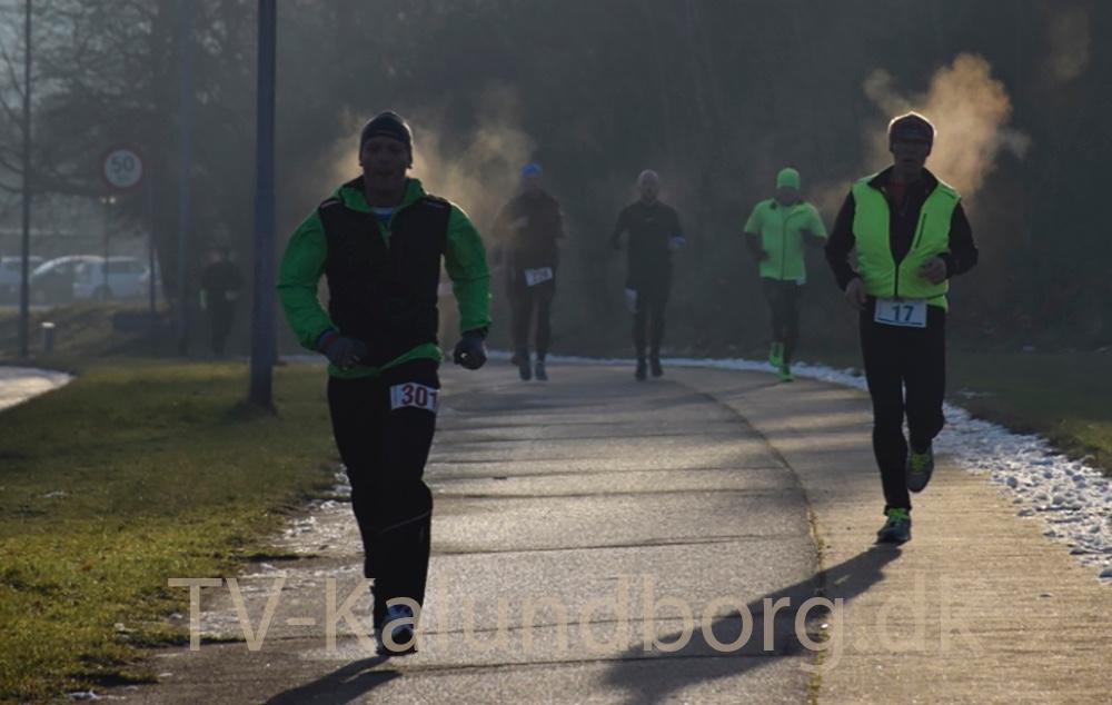 5 Tårns Motion i Kalundborg satte kl. 10 søndagformiddag gang i det første maratonløb i år. Foto: Gitte Korsgaard
