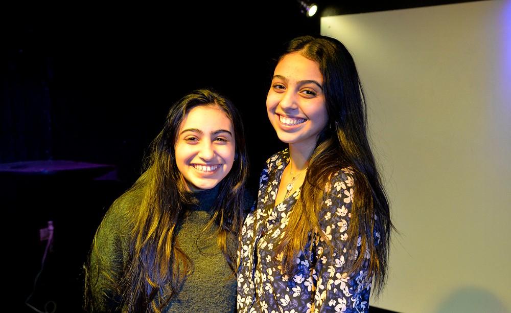 Søstrene Hanady og Hibeh dominerede talentkonkurrencen. Foto: Jens Nielsen