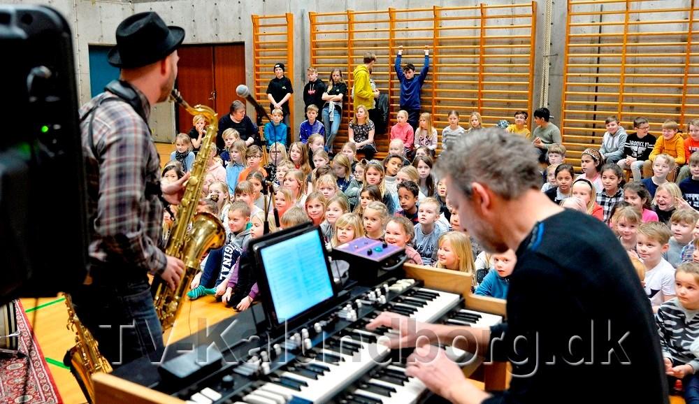 Billede fra et arrangement på Nyrupskolen. Arkivfoto: Jens Nielsen