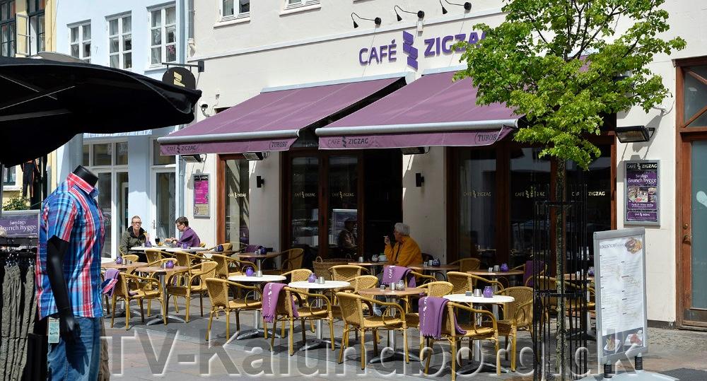 Café Zig Zag i Kalundborg.Arkivfoto: Jens Nielsen.