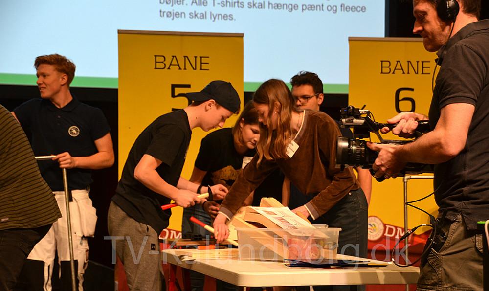 Tre elever fra 8.C fra Skolen På Herredsåsen i Kalundborg var fredag til DM i Skills i Næstved.