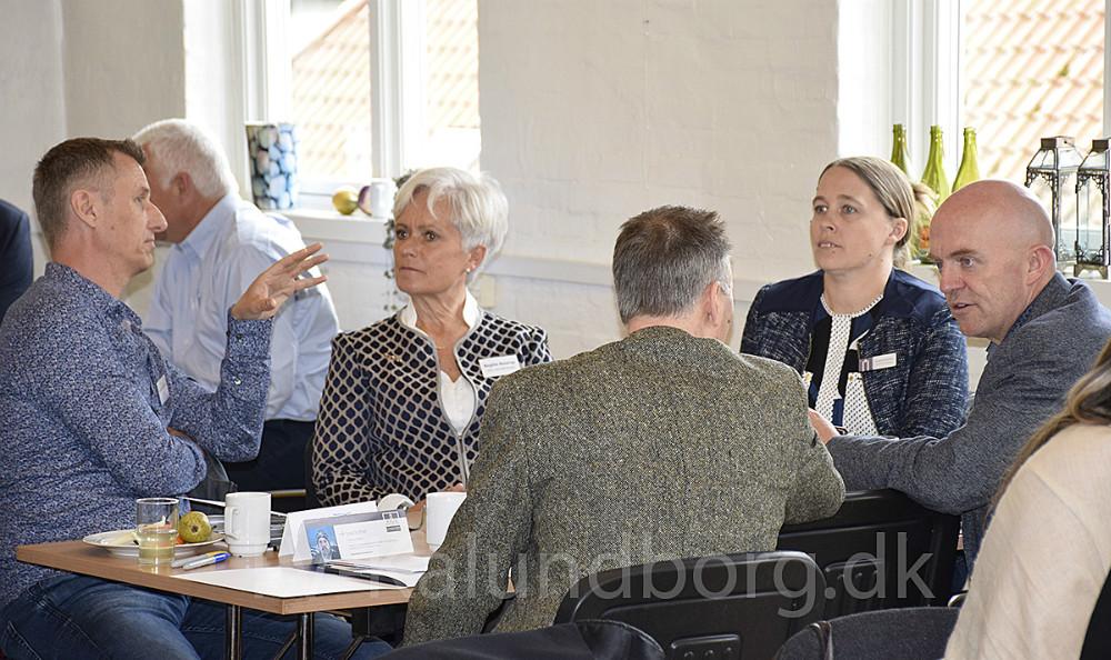 Workshop vedr. ny lederuddannelse, der bliver udbudt på Saltoftehus i Svebølle. Foto: Gitte Korsgaard.