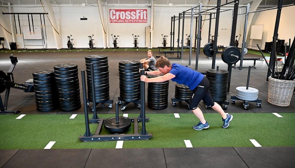 Så kan der igen dyrkes CrossFit i Kalundborg. Foto: Jens Nielsen
