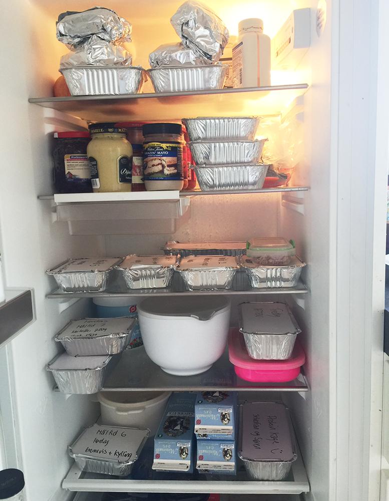Et kik ind i køleskabet