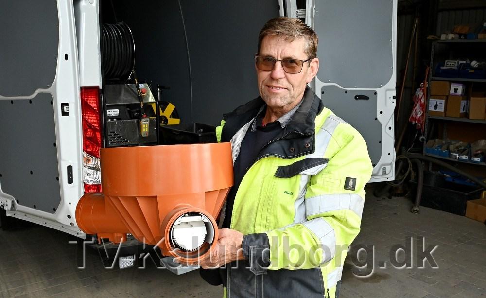 Niels Kæmpe, indehaver af Enghavens Entreprenør og Kloakmester. Foto:Jens Nielsen