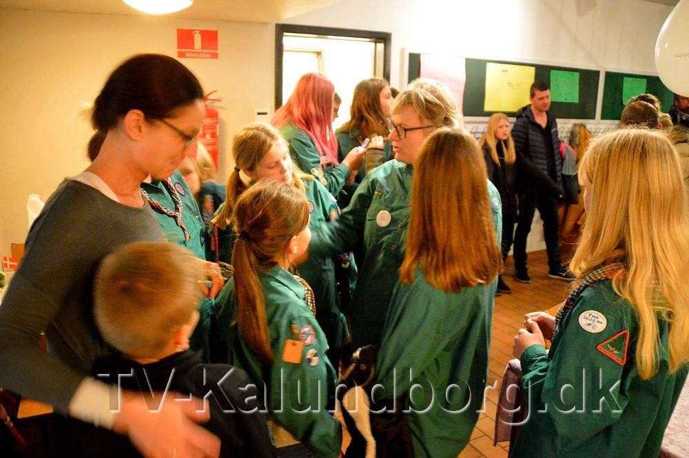 Nye lokaler til De grønne pigespejdere i Gørlev har fået nye lokaler. Privatfoto