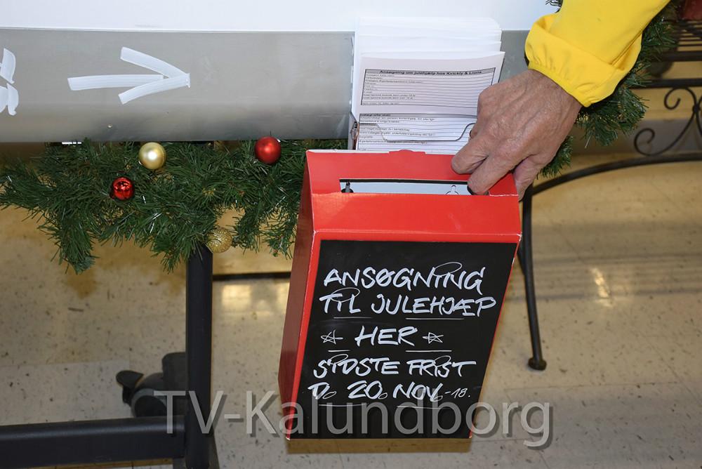 Kvickly Kalundborg og Lions Kalundborg er klar til igen at hjælpe økonomisk udsattefamilier med julehjælp. Foto: Gitte Korsgaard.