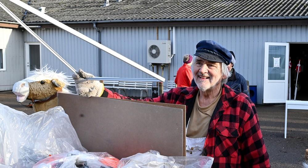 Lørdagsindsamlingerne hos Spildopmagerne er nu stoppet, en æra er slut, sigerformand for Spildopmagerne, Henrik Harslund. Foto: Jens Nielsen