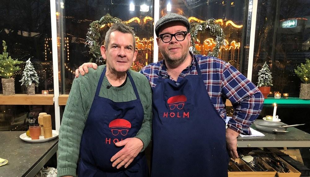 Søren Gericke og Claus Holm