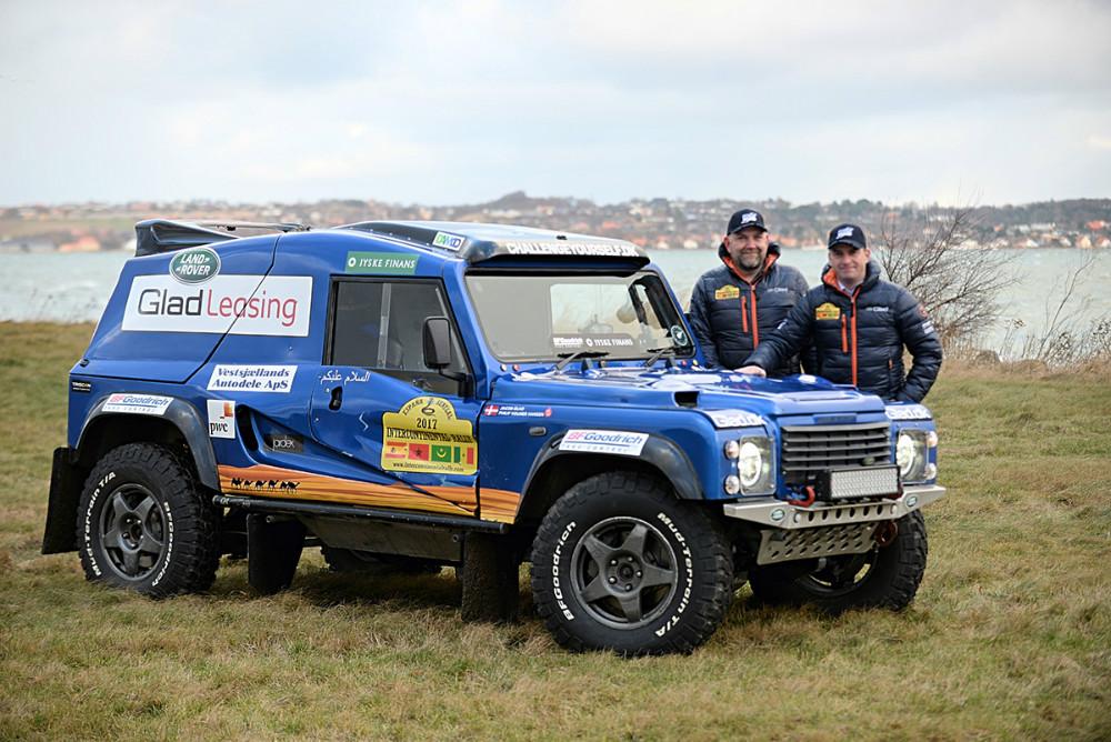 Jacob Glad og Philip Volmer Hansen vil forsøge at vinde Intercontinentale Rally endnu engang. Privatfoto