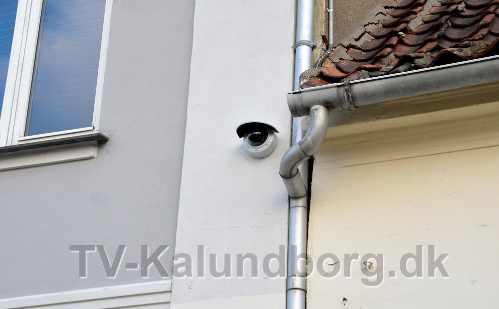 Nu er der sat overvågning op i Kordilgade. Foto: Jens Nielsen