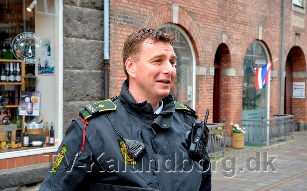 Politiassistent ved Midt- og Vestsjællands Politi,Peter Holm. Foto: Jens Nielsen