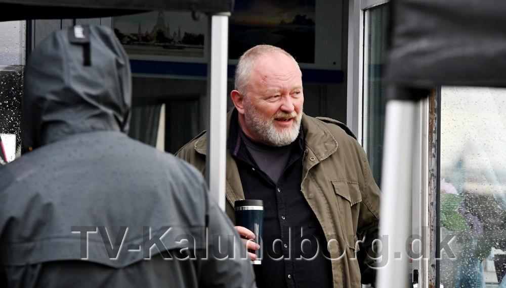 Skuespiller Bjarne Henriksen har hovedrollen somsocialrådgiverenLars. Foto: Jens Nielsen