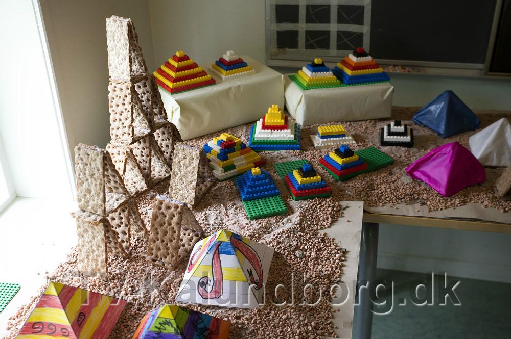 Pyramider i mange varianter. Foto: Jens Nielsen