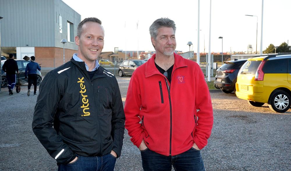 Brian Qvist Jacobsen og Henrik Lykke. Foto: Jens Nielsen