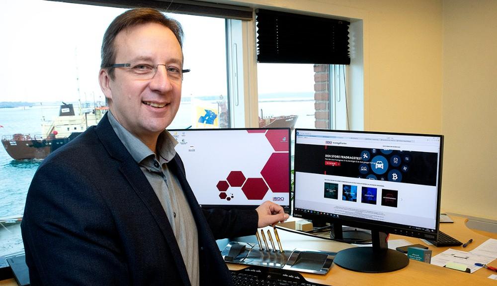 Peter Westergaard, Senior Partner hos BDO i Kalundborg. Foto: Jens Nielsen